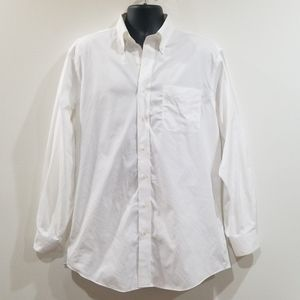 Jos. A. Bank travelers collection white shirt